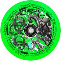 Колесо для самоката Chubby Lab 110мм (Toxic Green)