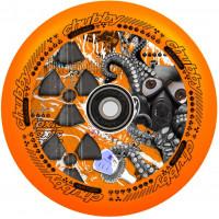 Колесо для самоката Chubby Lab 110мм (Radioactive Orange)