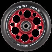 Колесо для самоката Tech Team X-Treme Drilled 100мм (Red)