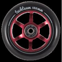 Колесо для самоката Tech Team X-Treme 6S 100мм (Red)