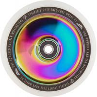 Колесо для самоката Striker Lighty Full Core V3 White 110мм (Rainbow)