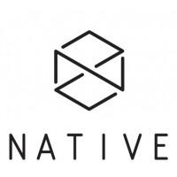Наклейка на самокат Native Logo (White)