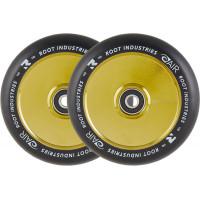 Колёса для самоката Root  Air Black 110мм (Gold Rush) 2 шт.