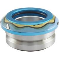 Интегрированная рулевая для самоката Chubby Donut Headset (Blue)