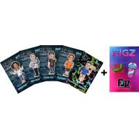 Наклейки на самокат Figz Collection 6 шт (Pack 2)