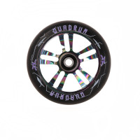 Колесо для самоката AO Quadrum 10-Star 100 мм (Black/Oil Slick)