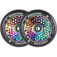 Колёсa для самоката Root Honeycore Black 110мм (Neochrome) 2 шт.