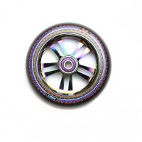 Колесо для самоката AO Mandala 110 мм (Black/Oil Slick)
