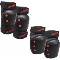 Комплект защиты Alk13 (Black/Red) размер S