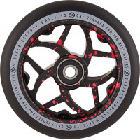 Колесо для самоката Striker Essence V3 Black Pro 110мм (Red Splash)